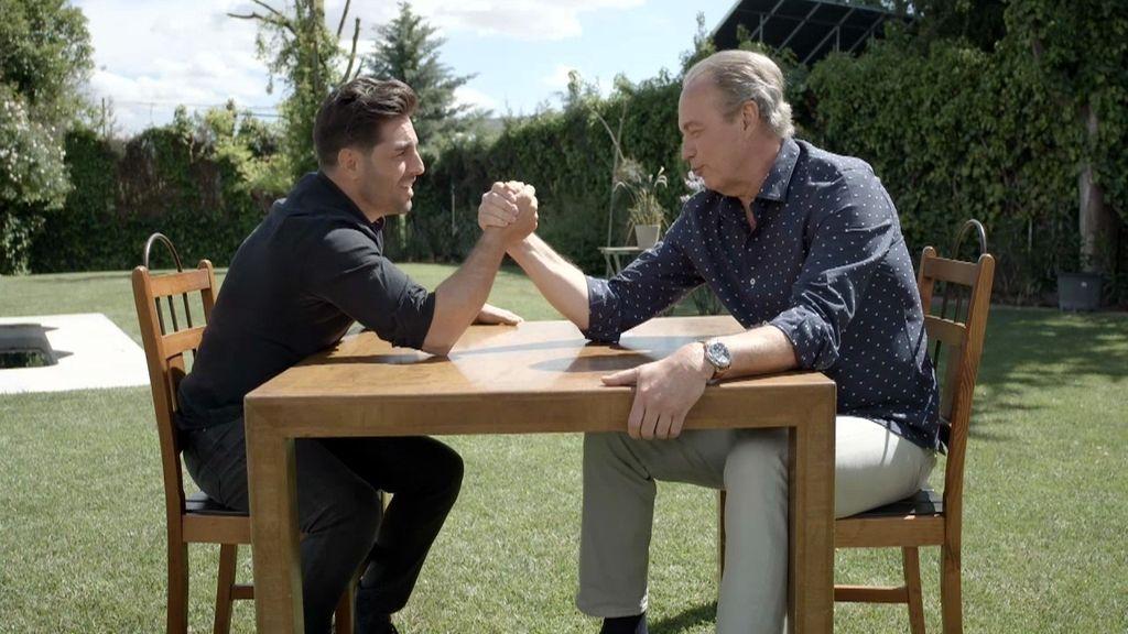 """Bertín, a Bustamante en el pulso definitivo: """"Me voy a cagar"""""""