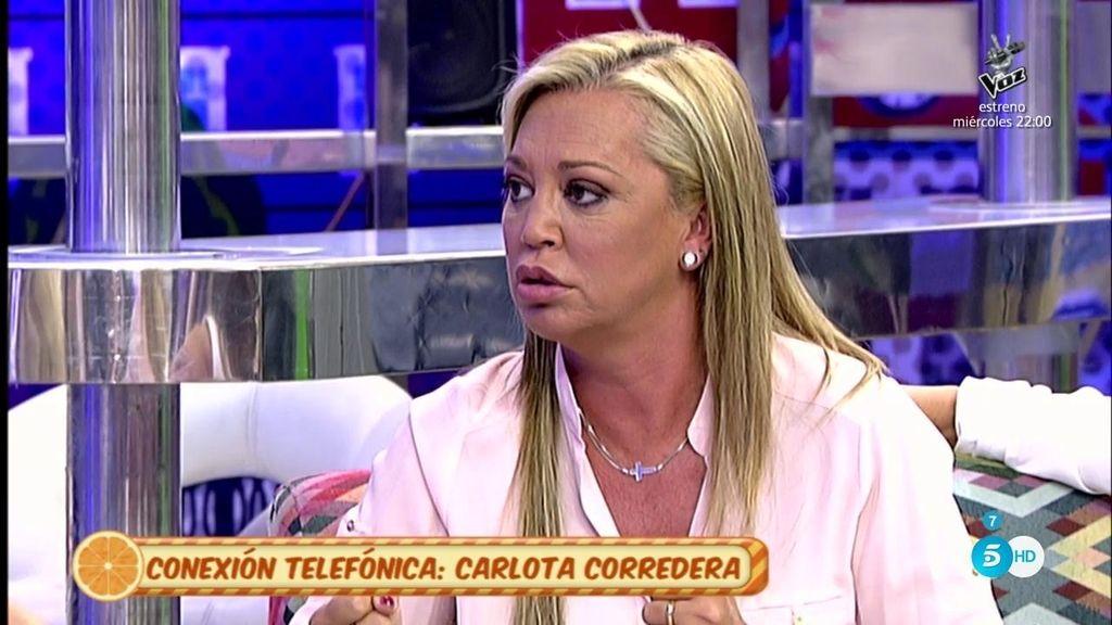 """Belén Esteban: """"Yo por María Patiño pongo mi cuello"""""""