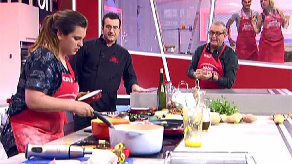 """Truco de cocina de Guillermo: """"la corteza de la patata hay que freírla no tirarla"""""""