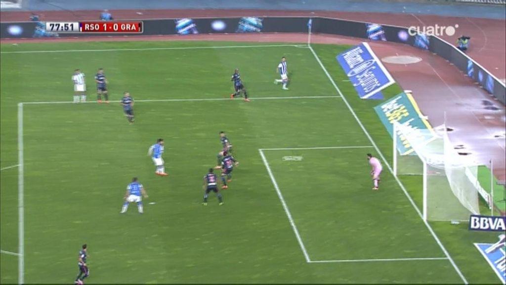 Gol de Vela (Real Sociedad 1-0 Granada)