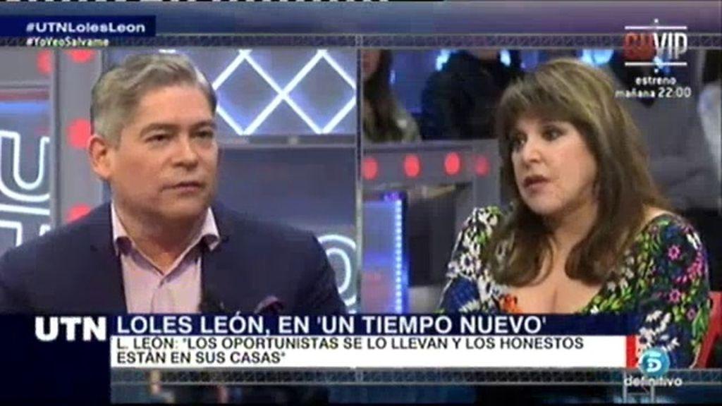"""Loles León: """"A mí nadie me ha regalado nada, llevo trabajando desde los 11 años"""""""