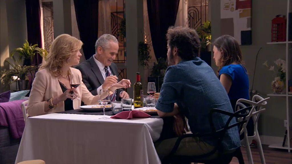 La cena de reconciliación entre Pablo y Sergio resulta un completo fracaso
