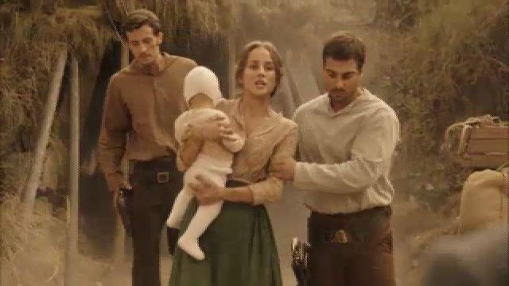 Almudena le ofrece La Quebrada a Don Joaquín a cambio de la vida de su hijo