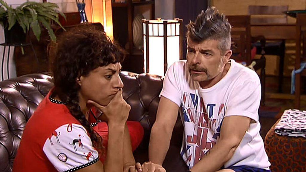 """El arrebato de amor de Coque, con Nines: """"Quiero que seamos marido y mujer"""""""