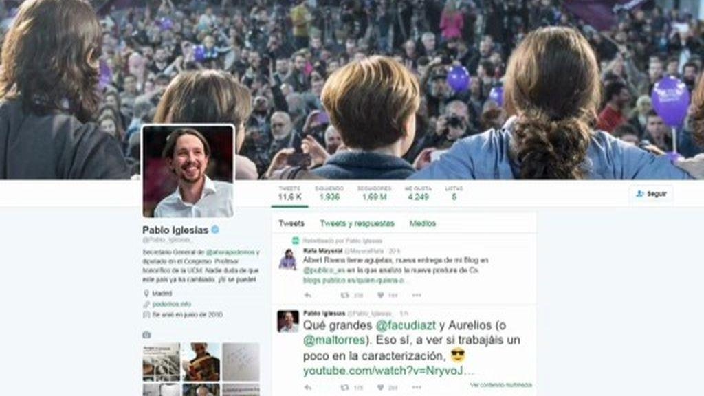 ¿Por qué triunfa Pablo Iglesias en redes?