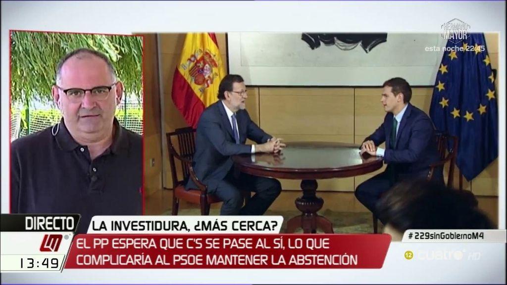 """Antón Losada: """"Love is in the air, comienza el romance entre Ciudadanos y el PP"""""""