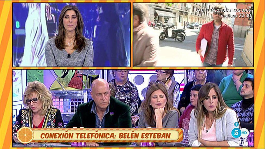 """Belén Esteban, de Sanchís: """"Si da una entrevista, que lleve documentación"""""""