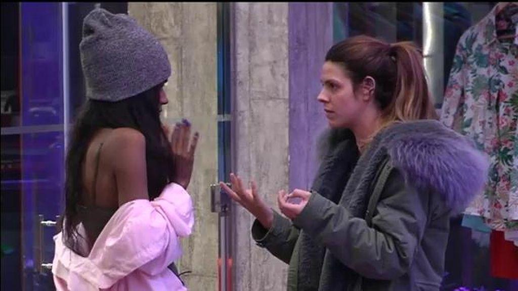 ¡Las imágenes del enfrentamiento de Laura y Liz con Alejandro de protagonista!
