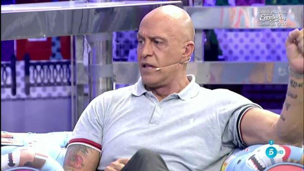 """Kiko M: """"El error de Luis Rolllán es no haber reconocido que sí habló con el paparazzi"""""""
