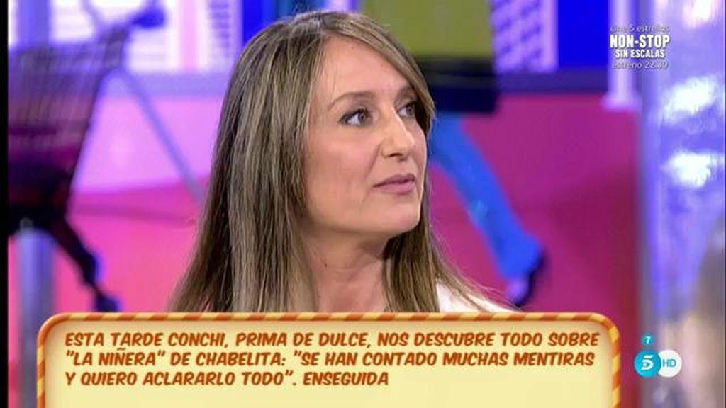 """Conchi, la prima de Dulce: """"Ella era súper fan de Agustín Pantoja e Isabel Pantoja"""""""