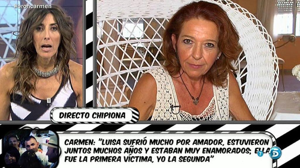 Carmen Moraira cuenta otra versión sobre el matrimonio de Amador y Rosa