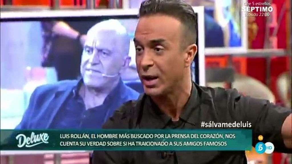 """Luis Rollán, a Kiko Matamoros: """"Lo que me has dicho es inhumano"""""""