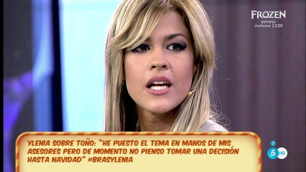"""Ylenia, de Toño S.: """"Voy a revisar las cosas por si acaso se me ha escapado algo"""""""