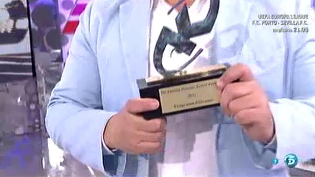 'Sálvame', galardonado como mejor programa de televisión en los Premios Kapital