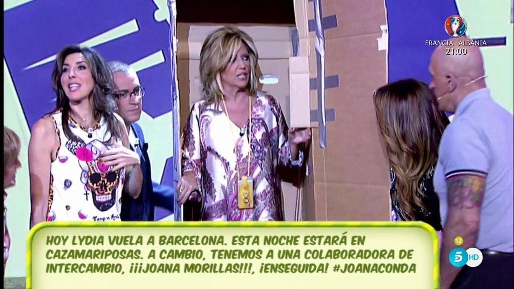 Intercambio: Lydia Lozano se va a 'Cazamariposas' y Joana Morillas a 'Sálvame'