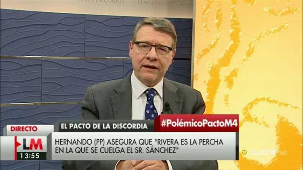 """J. Sevilla, de Podemos: """"No se han movido del postureo, de los sillones y de los eslóganes"""""""