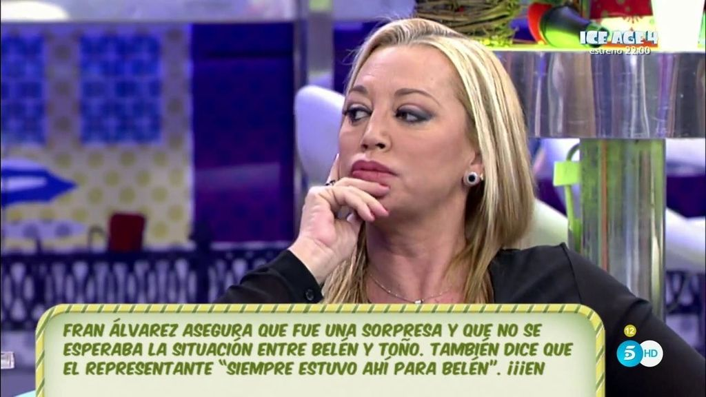 """Belén, de Fran Álvarez: """"Si él era mi marido y Toño mi representante, no entiendo qué hacían en un despacho a escondidas"""""""