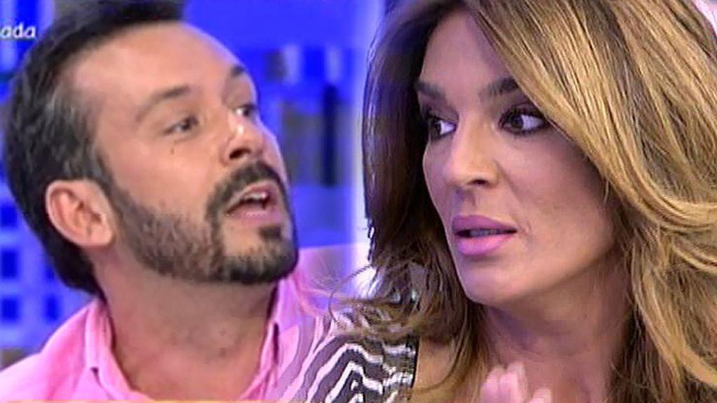"""Raquel Bollo, a Kike Calleja: """"¿Quién narices te cuenta el regalo que a mí me hace Isabel?"""""""