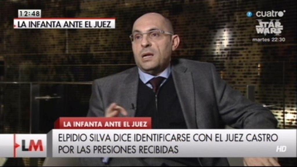 """Elpidio José Silva: """"Me veo reflejado en el caso de Castro"""""""