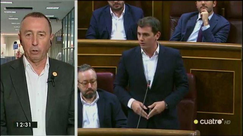 """Baldoví, del acuerdo del Prado: """"Si C's no lo ve viable, como mínimo que no lo impida"""""""