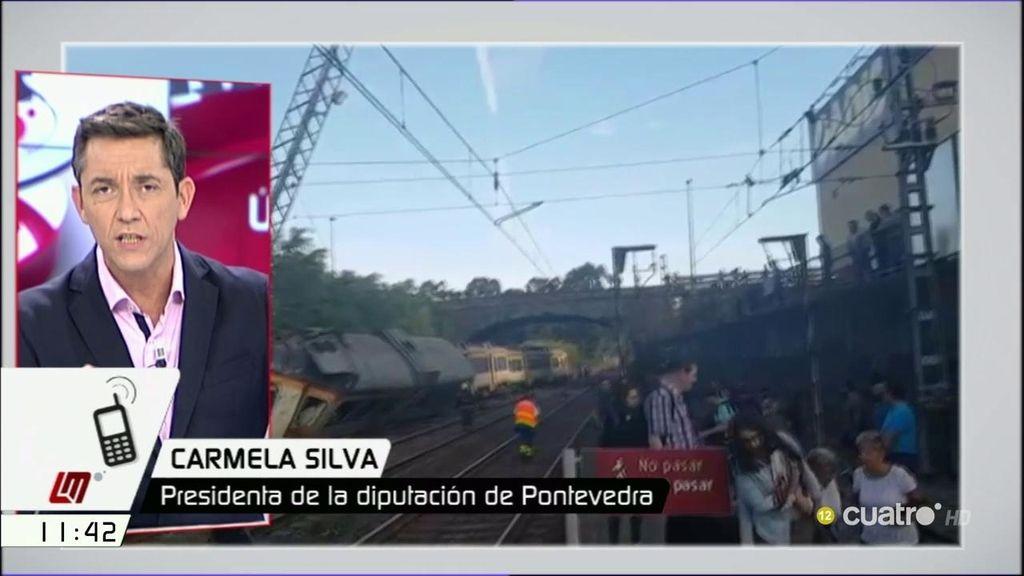 "Carmela Silva, presidenta de Pontevedra: ""Ahora se confirma la cuarta víctima"""