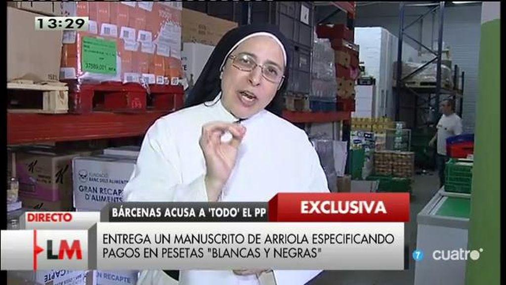 """Sor Lucía: """"Que Rajoy deje de desviar a córner la atención"""""""