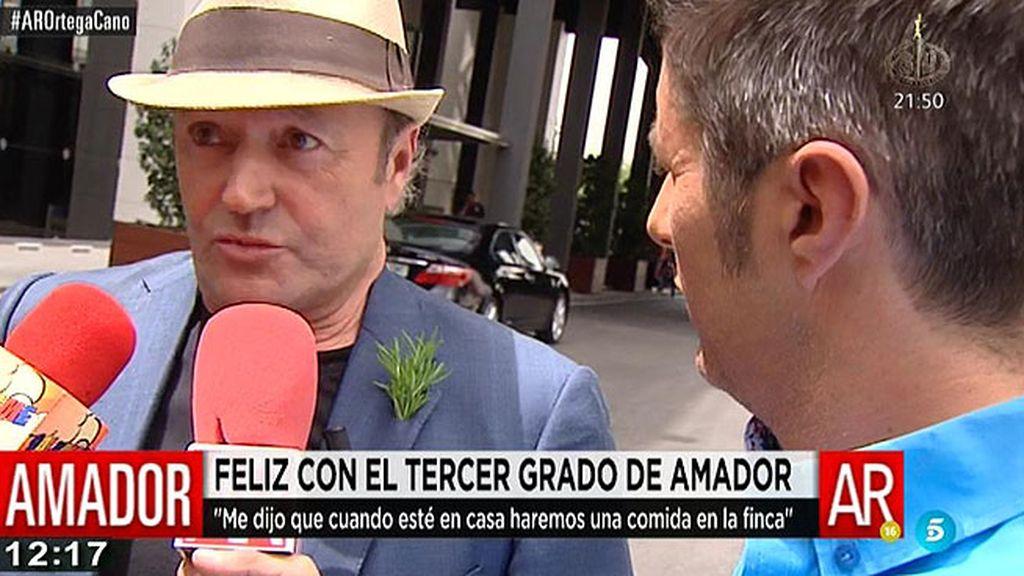 """Amador: """"Me alegro mucho de que hayan concedido el tercer grado a Ortega"""""""