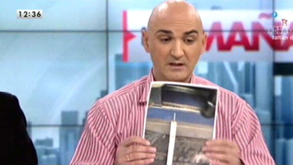S. Giraldo pide disculpas por mostrar una foto de un arma que no se incautó tras el 22-M