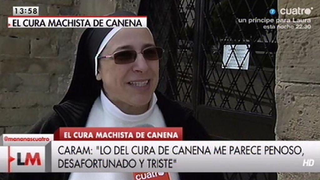 """Sor Lucía Caram, sobre el cura de Canena: """"Esto es para que nos lo hagamos mirar"""""""