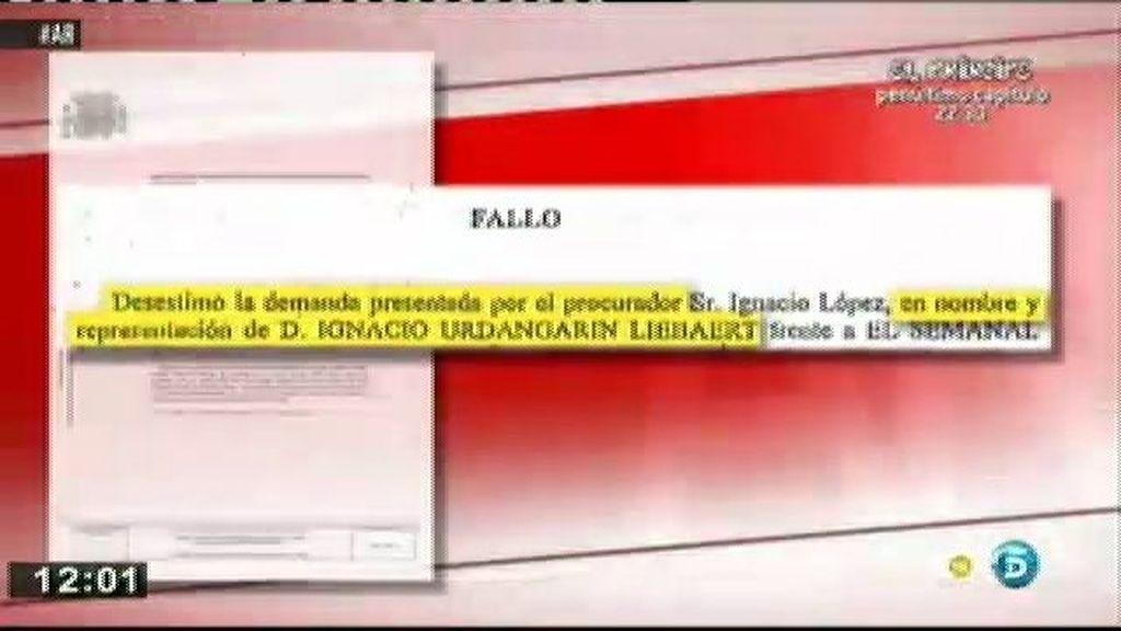 Desestiman la demanda de Urdangarin contra Torres y varios medios de comunicación por difundir correos íntimos