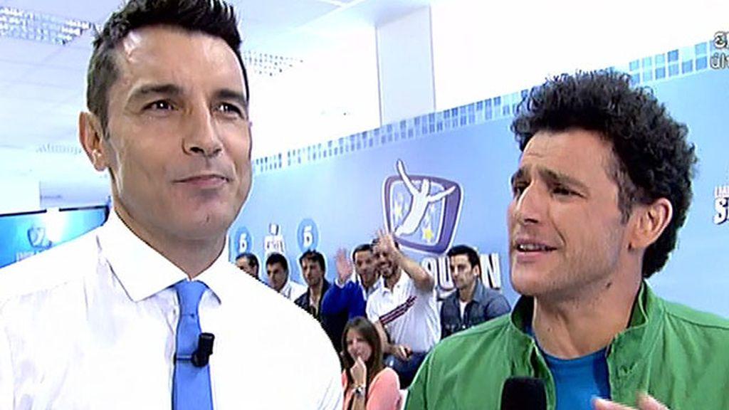 """Jesús Vázquez: """"Yo soy el cuerpo del programa, Sandro Rey, el cuerpito"""""""