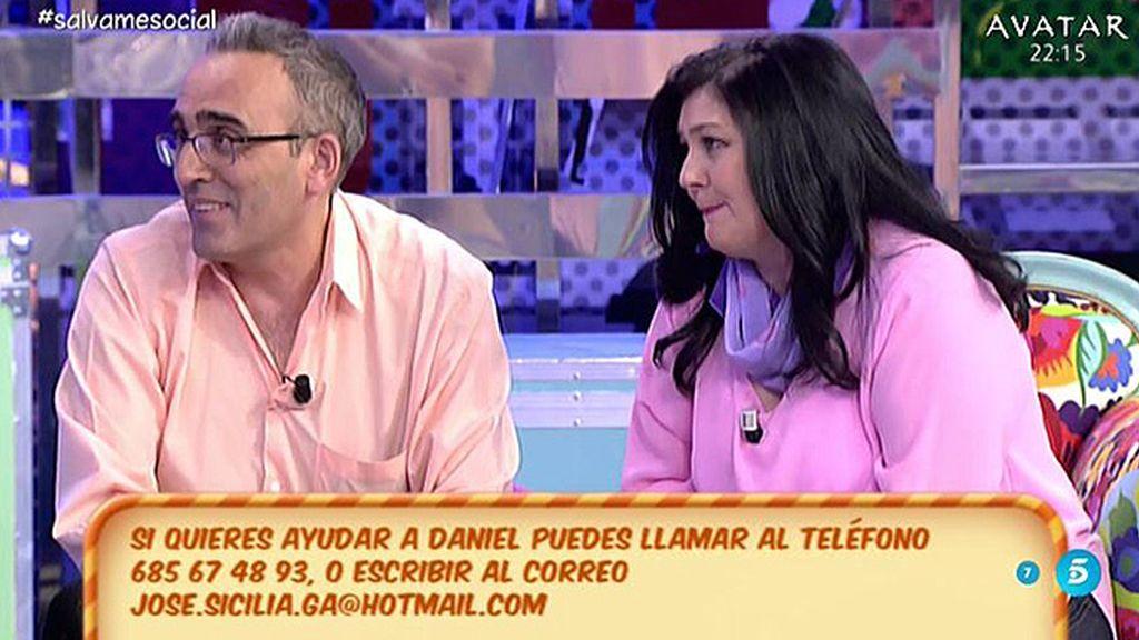 José Carlos y Mª Teresa piden ayuda para investigar la enfermedad que sufre su hijo