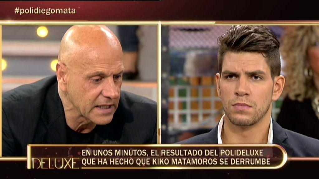 Diego Matamoros cree que su padre vive por encima de sus posibilidades