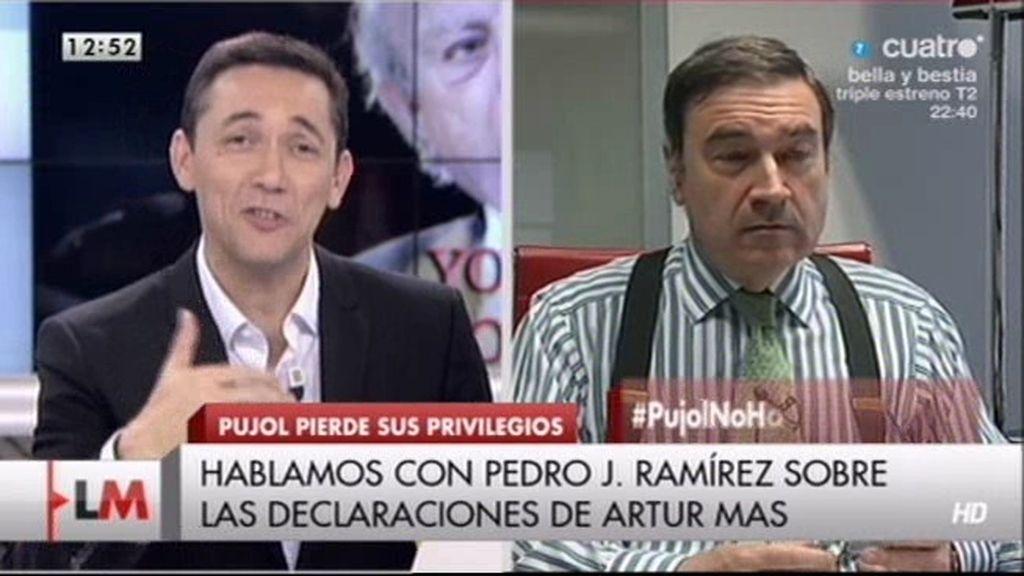 """P. Jota: """"Mas debe dar explicaciones de 2,3 millones de euros que tiene su familia"""""""