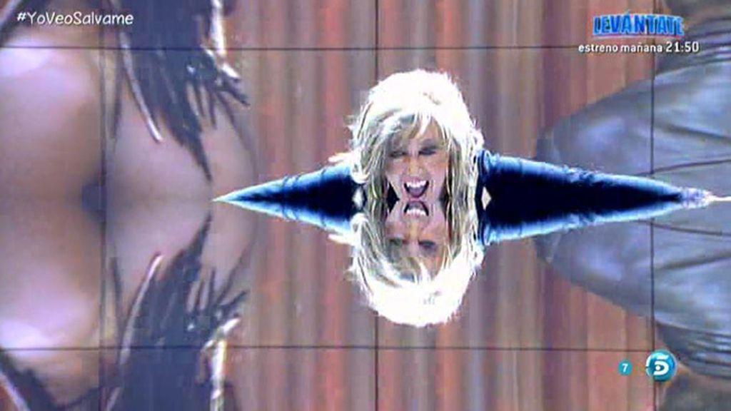 Lydia responde a las críticas de Víctor bailando su 'Nachopolízate'