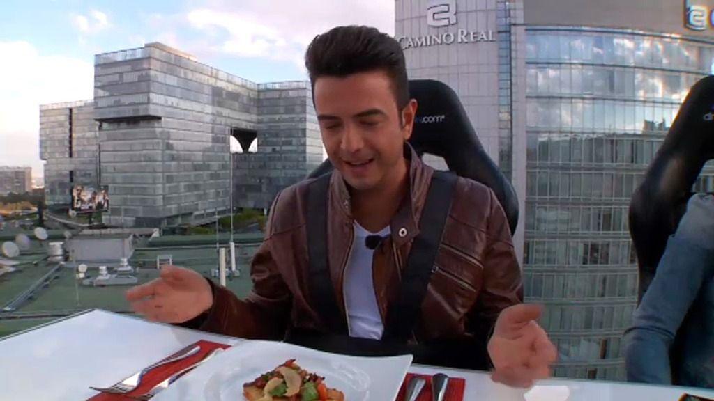 Pagar más de mil euros por comer a 45 metros de altura