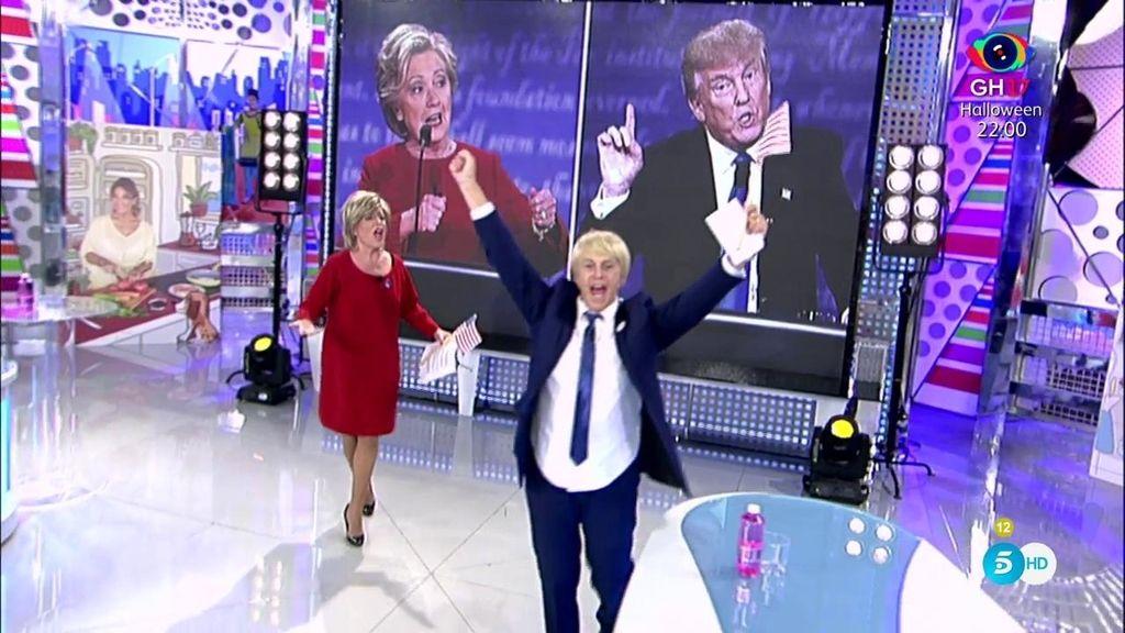 Hillary Lozano y Chelo Trump compiten por la presidencia de Estados Unidos