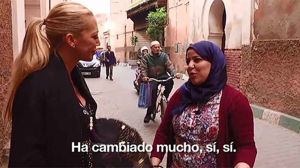 Belén quiere saber más sobre el papel de la mujer en la sociedad Marroquí