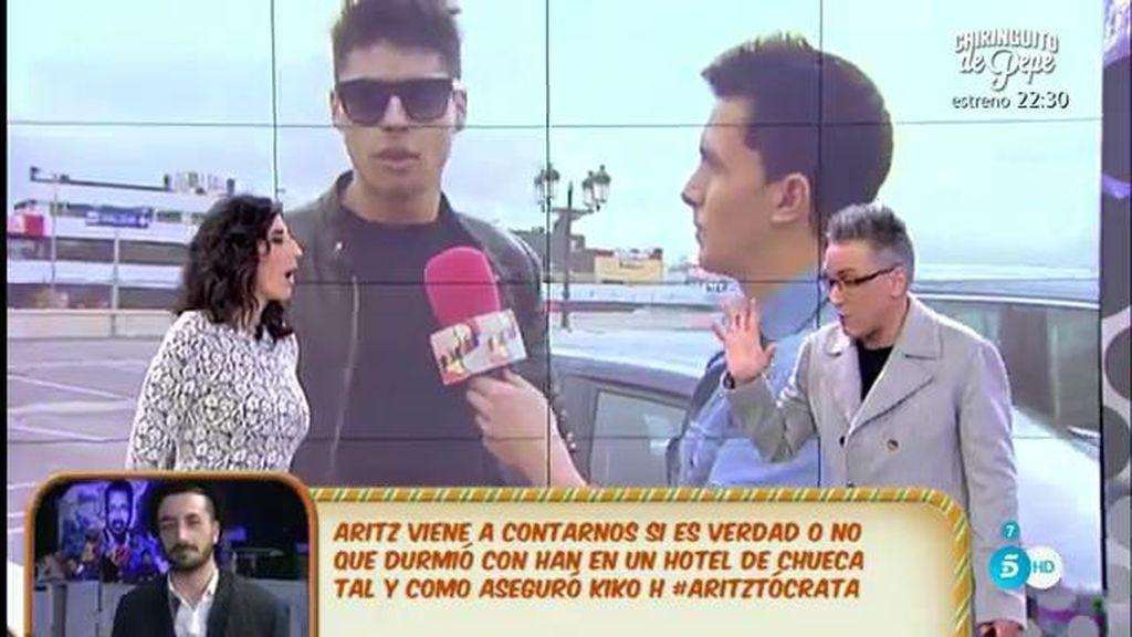 Javier Tudela no quiere retomar la relación con su chica hasta ver qué ocurre en 'GH VIP', según Kiko Hernández