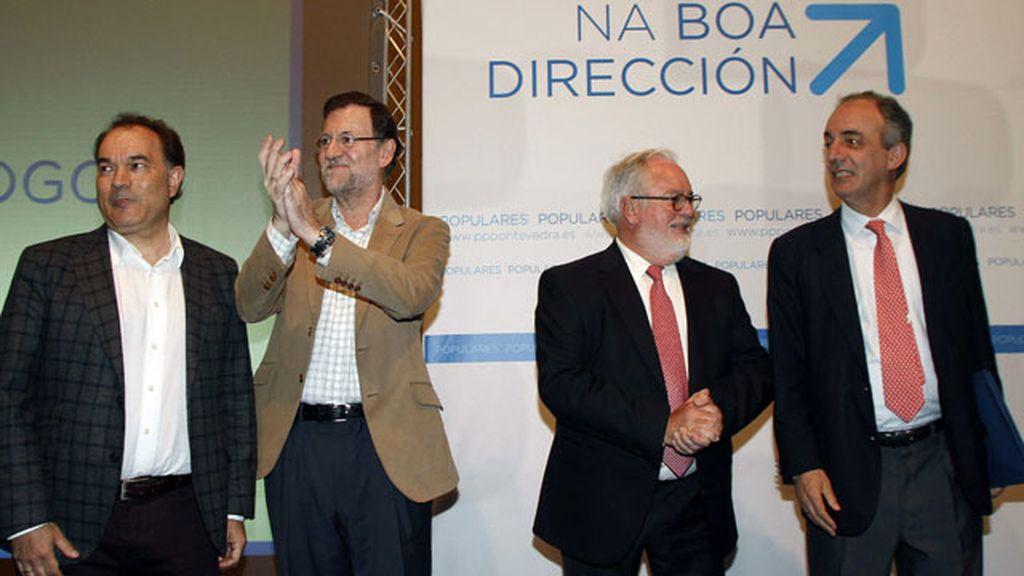 """Rajoy: """"Los españoles conocerán noticias positivas en los próximos días"""""""