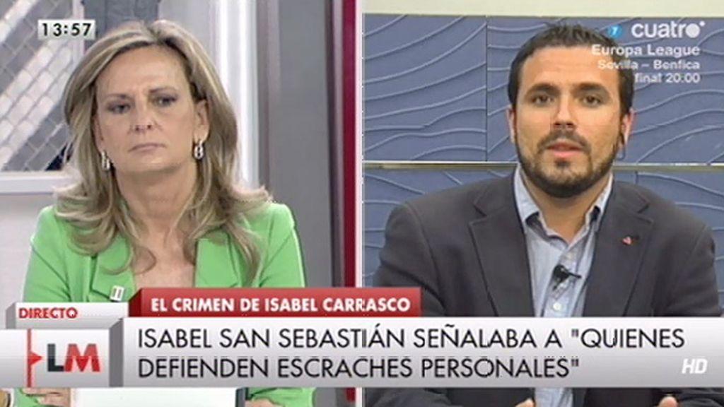 """A. Garzón, a San Sebastián: """"Aprovechó el caso de León para criminalizar un movimiento pacífico"""""""