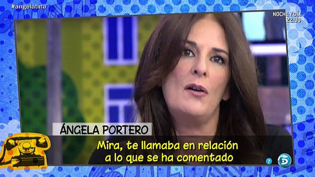 ¿Ha aprovechado Ángela Portero su ausencia para operarse?