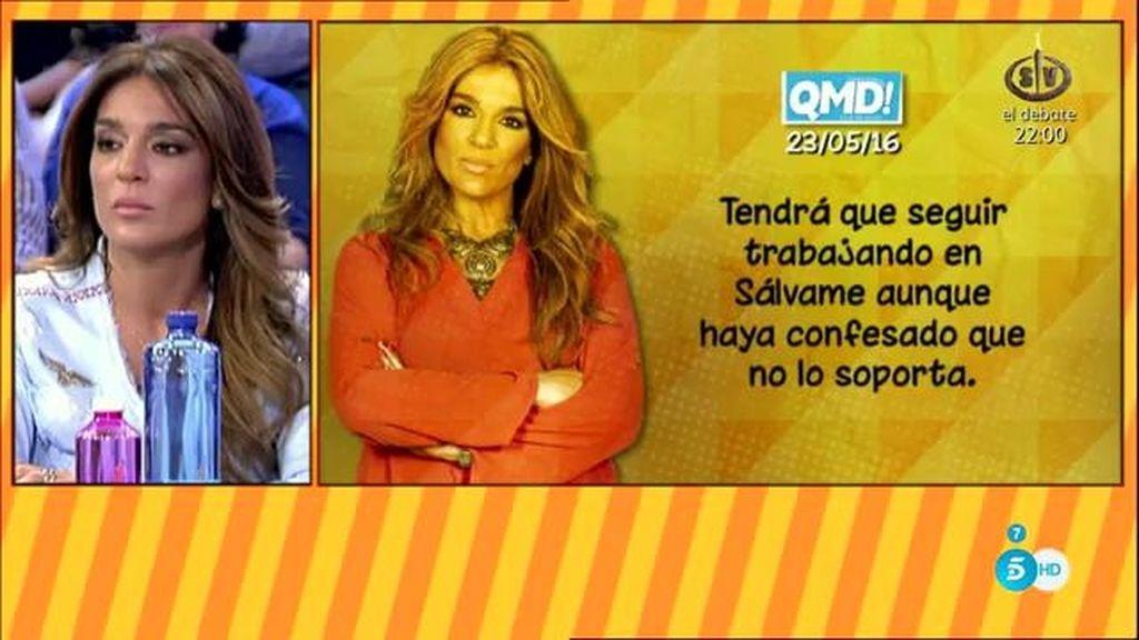 """Raquel Bollo, """"a un paso de dejar la tele"""", según 'QMD!'"""