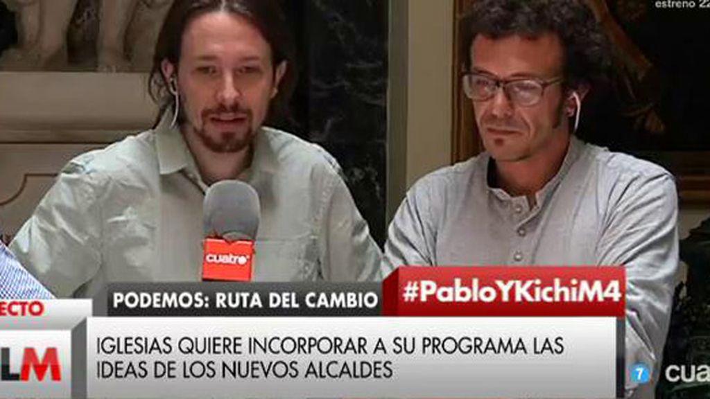 """Pablo Iglesias: """"Lo preocupante no son tanto cuentas de Twitter como las cuentas de Andorra y Suiza"""""""