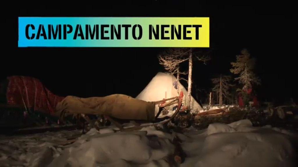 Jesús calleja llega al campamento Nenet