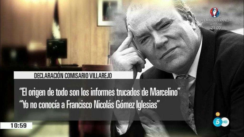 """Villarejo: """"Es muy grave grabar una reunión del CNI, estas cosas le gustan a Marcelino"""""""