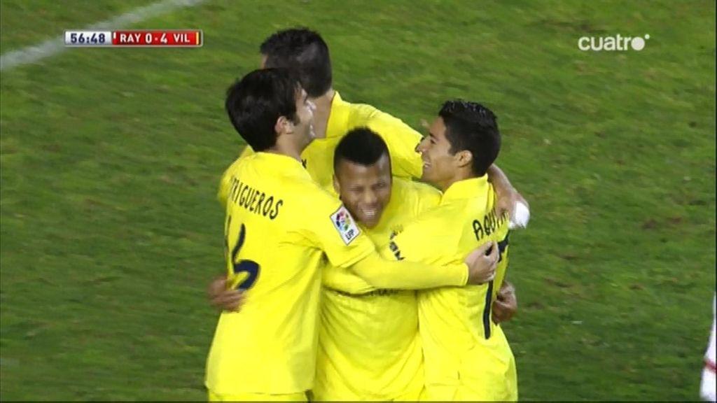 Gol de Uche (Rayo 0-4 Villarreal)