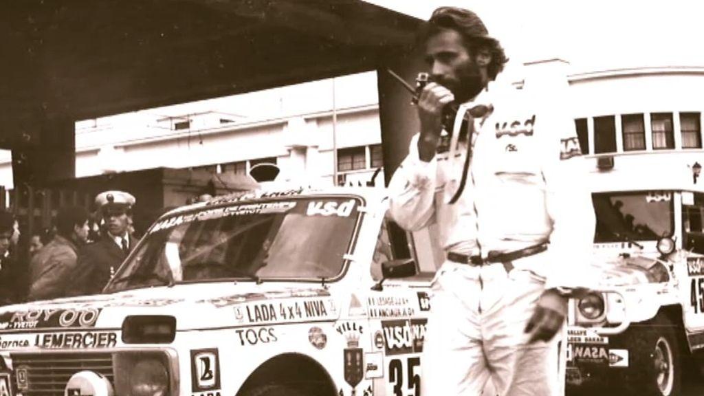 Thierry Sabine, fundador del Dakar murió en la prueba por una tormenta de arena