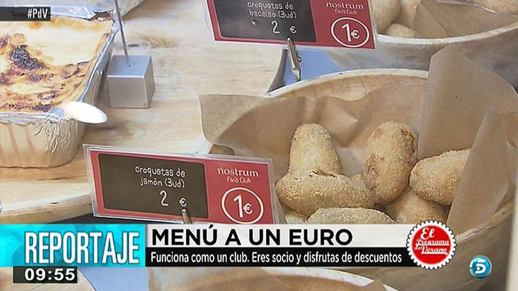 Comida casera a 1,2 y 3 euros
