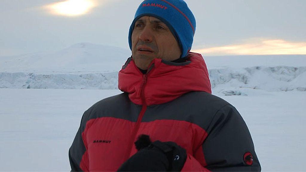 José Mota acepta el reto de \'Planeta Calleja\' acampando en el Ártico